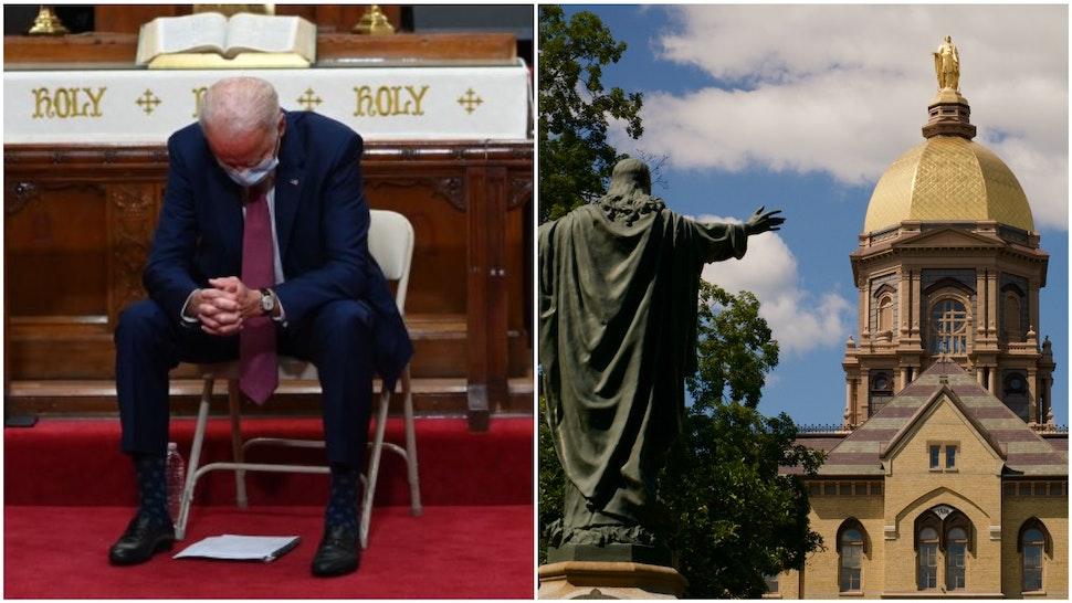 Joe Biden and Notre Dame