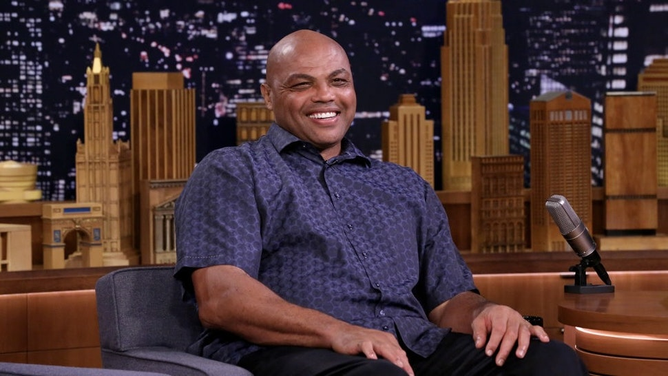 The Tonight Show Starring Jimmy Fallon - Season 6 THE TONIGHT SHOW STARRING JIMMY FALLON -- Episode 0943 -- Pictured: Charles Barkley during an interview on October 11, 2018 -- (Photo by: Andrew Lipovsky/NBCU Photo Bank/NBCUniversal via Getty Images via Getty Images) NBC / Contributor via Getty Images