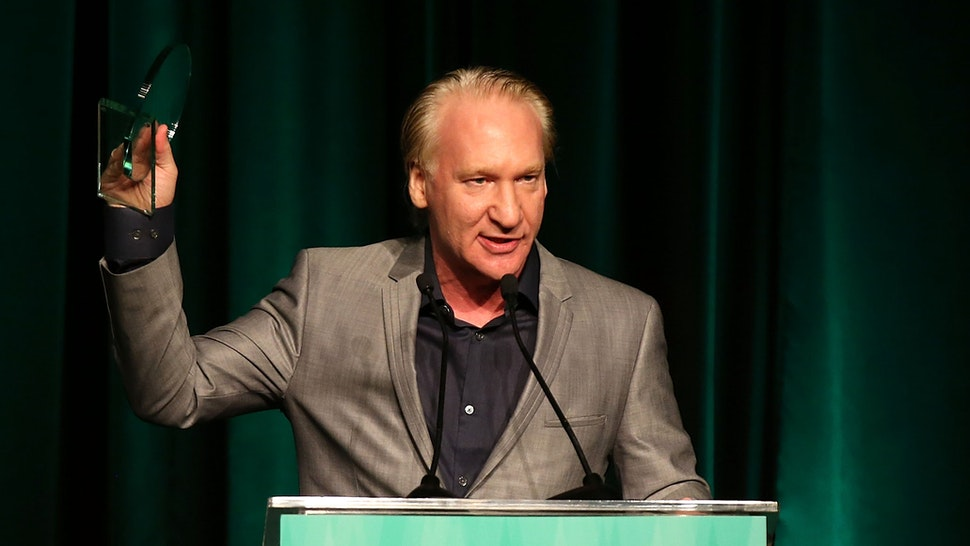 BEVERLY HILLS, CA - SEPTEMBER 28: Bill Maher speaks onstage while accepting the First Amendment Award during PEN Center USA's 26th Annual Literary Awards Festival honoring Isabel Allende at the Beverly Wilshire Four Seasons Hotel on September 28, 2016 in Beverly Hills, California.