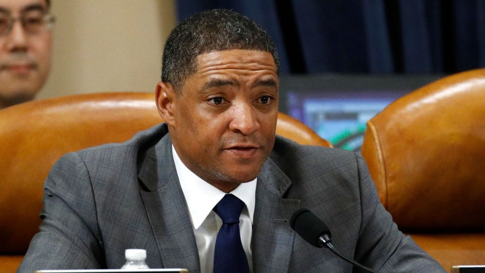 WASHINGTON, DC - DECEMBER 13: Rep. Cedric Richmond, D-La., votes to approve the second article of impeachment as the House Judiciary Committee holds a public hearing to vote on the two articles of impeachment against U.S. President Donald Trump in the Longworth House Office Building on Capitol Hill December 13, 2019 in Washington, DC. The articles charge Trump with abuse of power and obstruction of Congress. House Democrats claim that Trump posed a 'clear and present danger' to national security and the 2020 election based on his dealings with Ukraine. (Photo by Patrick Semansky-Pool/Getty Images)