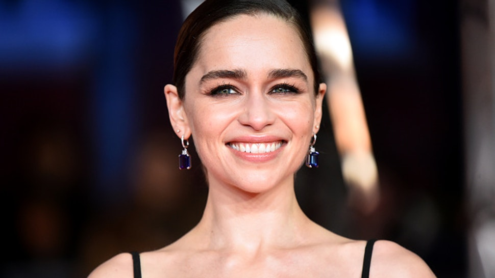 Emilia Clarke attending the 73rd British Academy Film Awards held at the Royal Albert Hall, London.