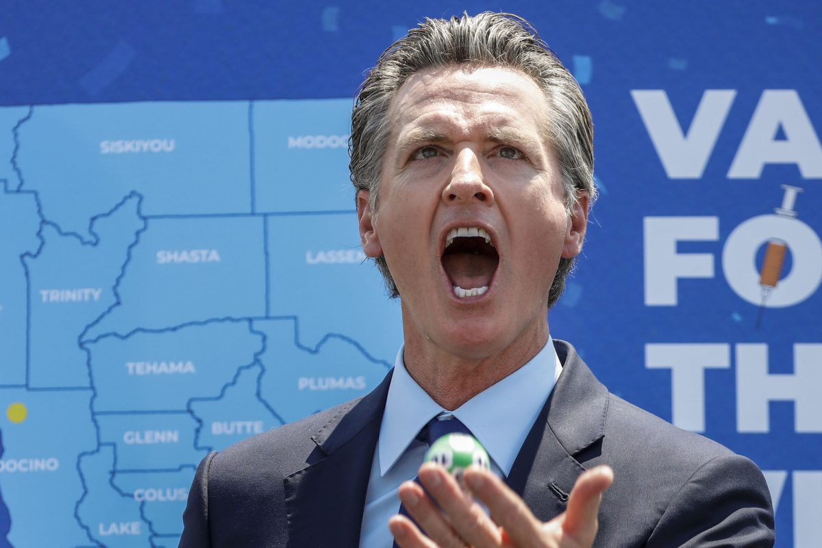 Democrat Governor Gavin Newsom Officially To Face Recall, Second In State's History