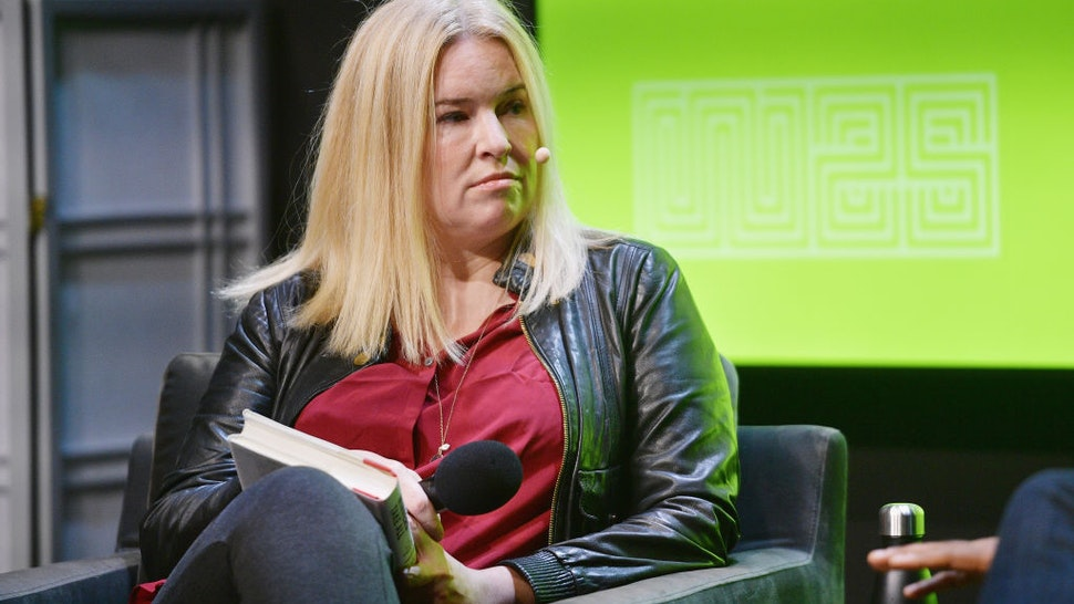 Virginia Heffernan speaks at WIRED25 Festival: WIRED Celebrates 25th Anniversary – Day 2 on October 14, 2018 in San Francisco, California. (Photo by Matt Winkelmeyer/Getty Images for WIRED25 )