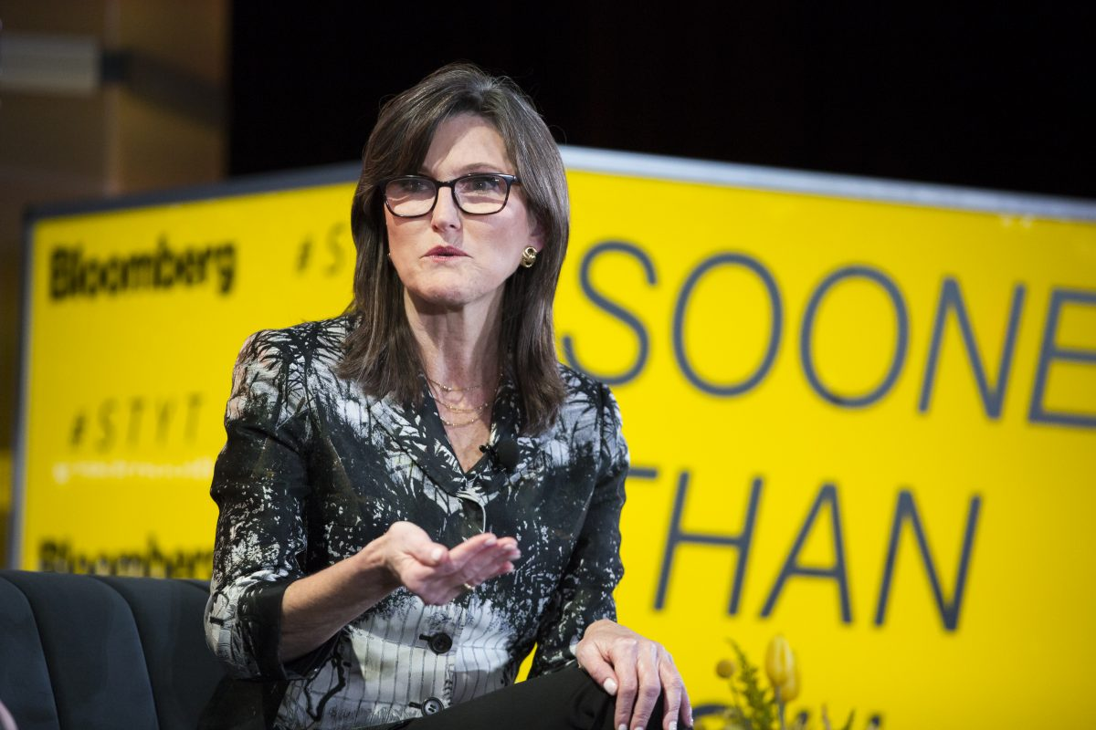 Cathie Wood's ARK ETFs Buy $42 Million In DraftKings After Short-Seller Report