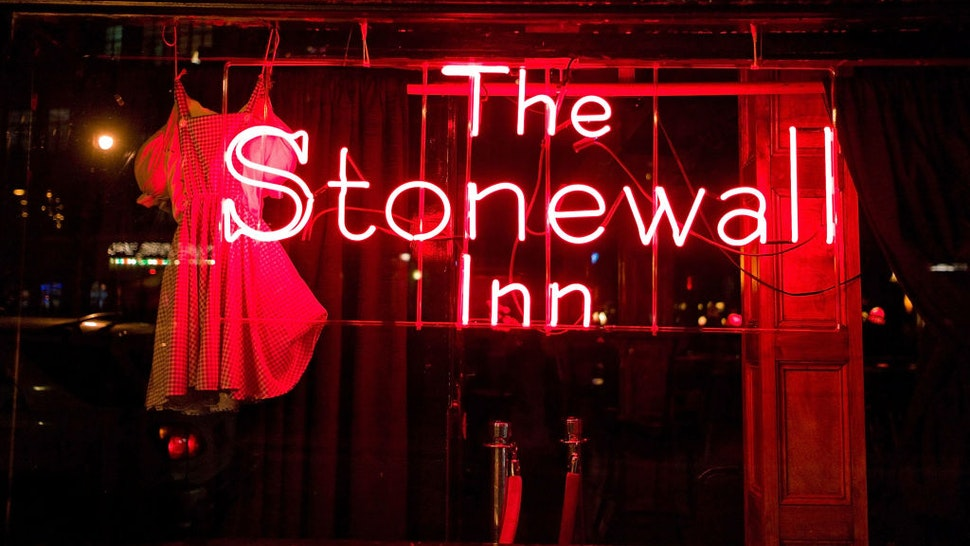 NEW YORK, NY - MARCH 02: A general view of the exterior of the Stonewall Inn on March 2, 2011 in New York City. (Photo by Ben Hider/Getty Images)