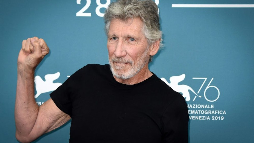 """VENICE, ITALY - SEPTEMBER 06: Roger Waters attends the """"Roger Waters Us + Them"""" Photocall during the 76th Venice Film Festival at on September 06, 2019 in Venice, Italy."""