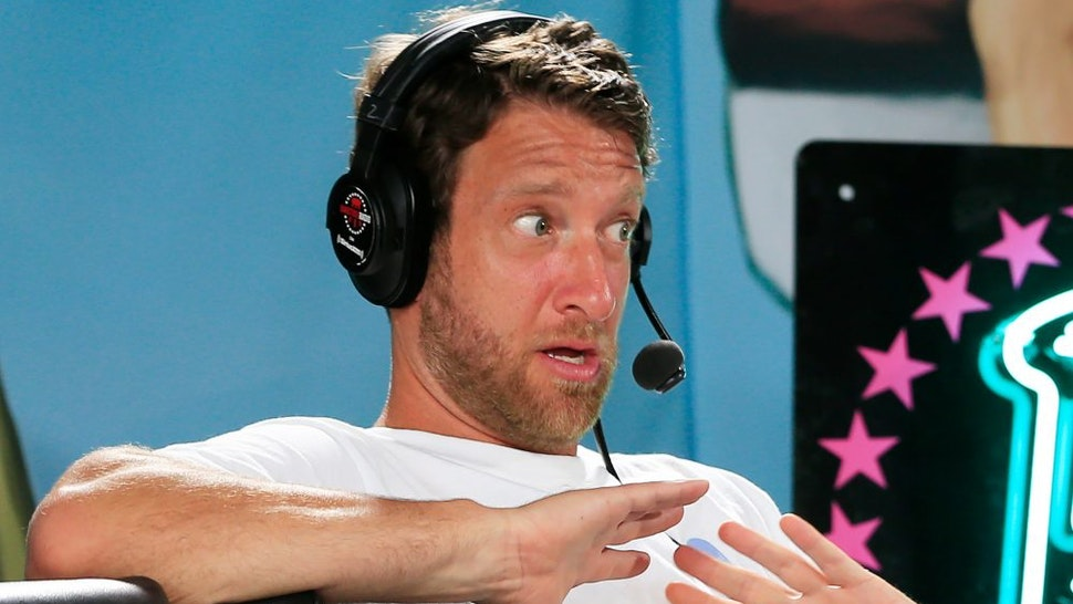 MIAMI BEACH, FLORIDA - JANUARY 30: David Portnoy, founder of Barstool Sports, speaks during a radio broadcast prior to Super Bowl LIV on January 30, 2020 in Miami Beach, Florida. The San Francisco 49ers will face the Kansas City Chiefs in the 54th playing of the Super Bowl, Sunday February 2nd.
