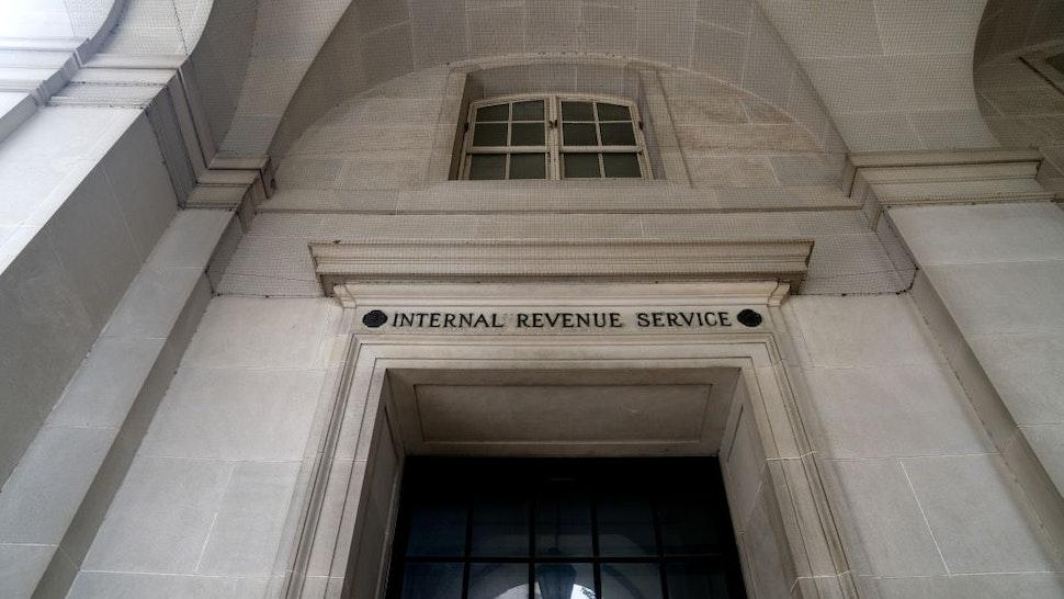 The Internal Revenue Service (IRS) building in Washington, D.C., U.S., on Saturday, June 26, 2021.