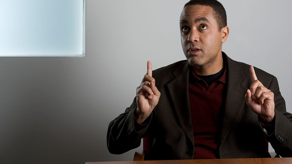 """John H, McWhorter, Senior Fellow at the Manhattan Institute, McWhorter is the author of a new book on black society, """"Winning the Race: Beyond the Crisis in Black America"""" (Gotham 2006). He also wrote """"Losing the Race"""" and an anthology of race writings, """"Authentically Black. (Photo by James Leynse/Corbis via Getty Images)"""