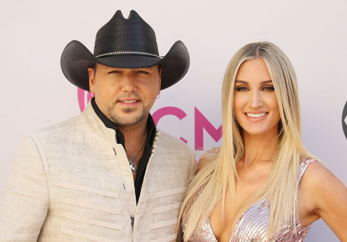 Country Star Jason Aldean Poses With Pro-Trump Sticker, Hangs With Popular Conservatives For Wife's Birthday