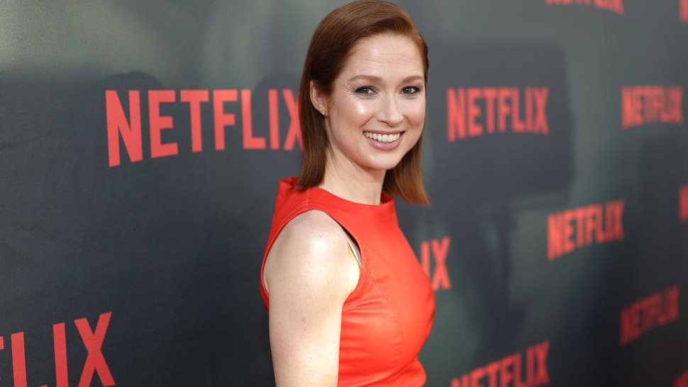"""NORTH HOLLYWOOD, CA - MAY 04: Actress Ellie Kemper attends Netflix's """"Unbreakable Kimmy Schmidt"""" for your consideration event red carpet at Saban Media Center on May 4, 2017 in North Hollywood, California. (Photo by Neilson Barnard/Getty Images)"""