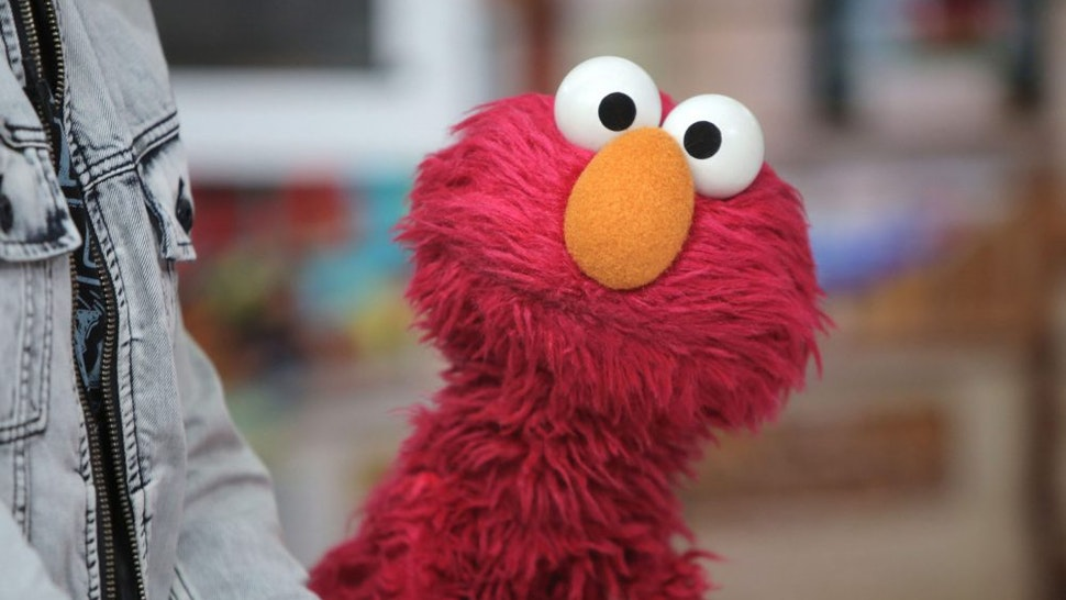 TODAY -- Pictured: Elmo from Sesame Street on Friday, Aug. 4, 2017
