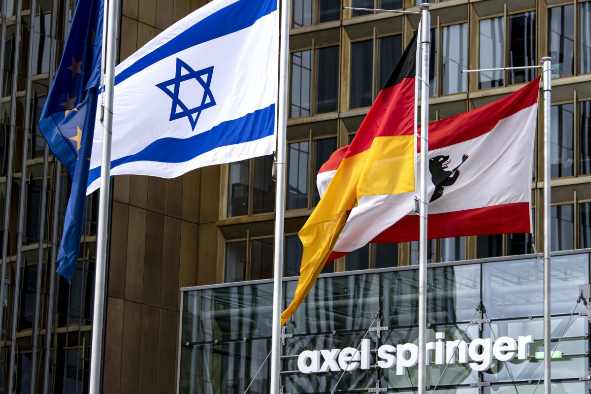 German Media Giant's Message To Employees: Find A New Job If You're Anti-Israel