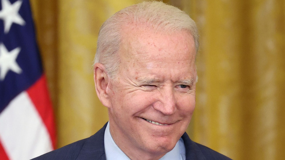 WASHINGTON, DC - JUNE 24: U.S. President Joe Biden delivers remarks on the Senate's bipartisan infrastructure deal at the White House on June 24, 2021 in Washington, DC. Biden said both sides made compromises on the nearly $1 trillion infrastructure bill