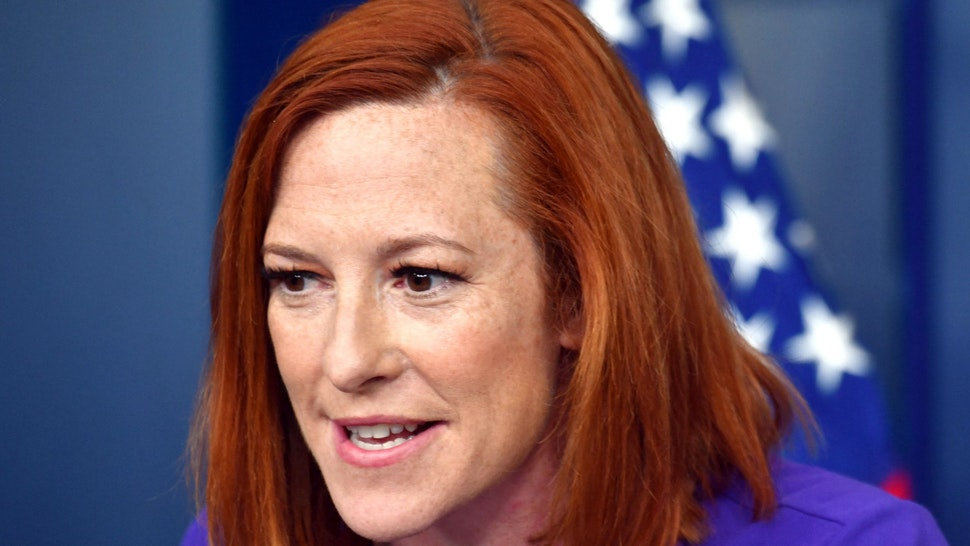 White House Press Secretary Jen Psaki speaks during the daily briefing in the Brady Briefing Room of the White House in Washington, DC on June 25, 2021.