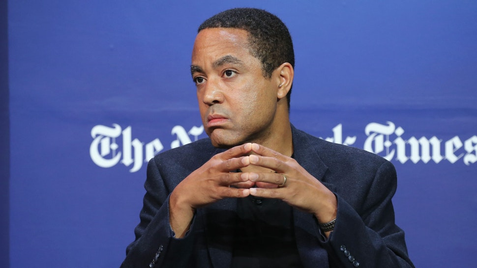 NEW YORK, NY - SEPTEMBER 17: Author, columnist and professor at Columbia University, John McWhorter speaks onstage during the New York Times Schools for Tomorrow conference at New York Times Building on September 17, 2015 in New York City.