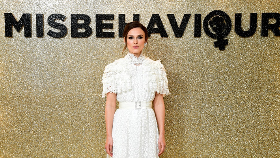 Keira Knightley attending the Misbehaviour World Premiere held at the Ham Yard Hotel in Soho, London
