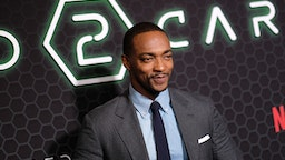 """NEW YORK, NEW YORK - FEBRUARY 24: Anthony Mackie attends Netflix's """"Altered Carbon"""" Season 2 Photo Call at AMC Lincoln Square Theater on February 24, 2020 in New York City."""