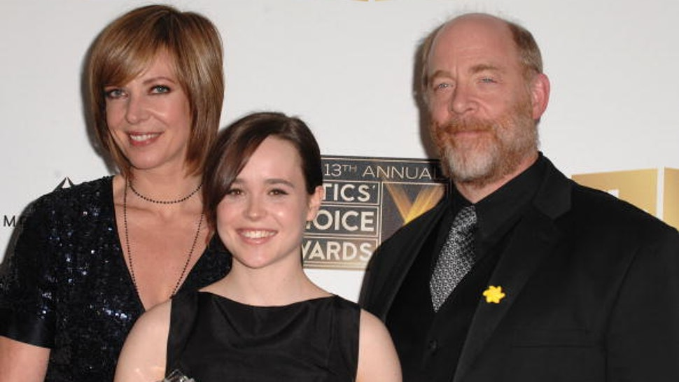 SANTA MONICA, CA - JANUARY 07: Actress Allison Janney, actress Ellen Page and actor J.K. Simmons at the 13th ANNUAL CRITICS' CHOICE AWARDS at the Santa Monica Civic Auditorium on January 7, 2008 in Santa Monica, California.