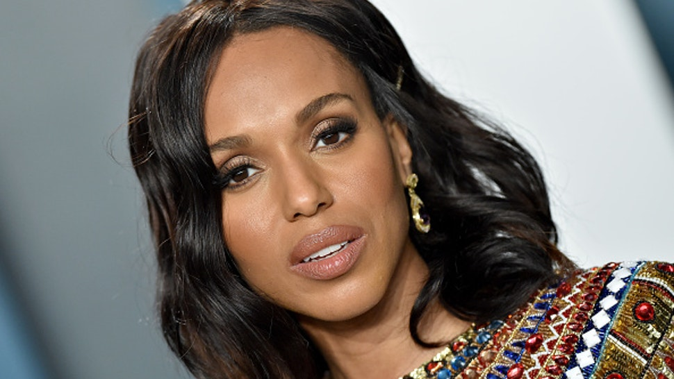 BEVERLY HILLS, CALIFORNIA - FEBRUARY 09: Kerry Washington attends the 2020 Vanity Fair Oscar Party hosted by Radhika Jones at Wallis Annenberg Center for the Performing Arts on February 09, 2020 in Beverly Hills, California