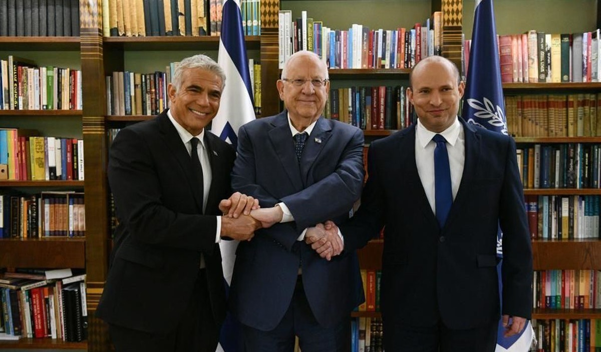 New Israeli Government Blasts 'Bad' Iran Deal, Remains Committed To Trump Peace Plan After Netanyahu's Ouster