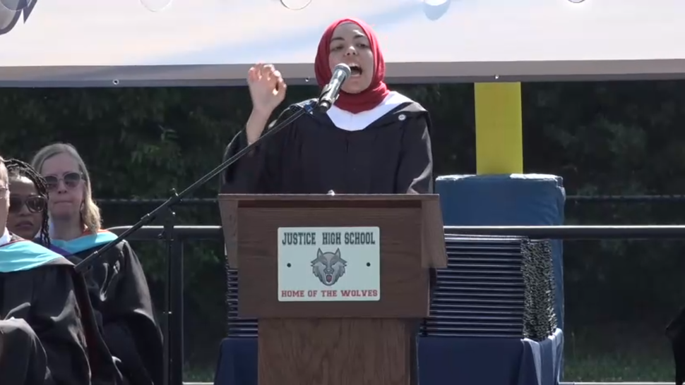 Board member calls for 'jihad' at high school graduation