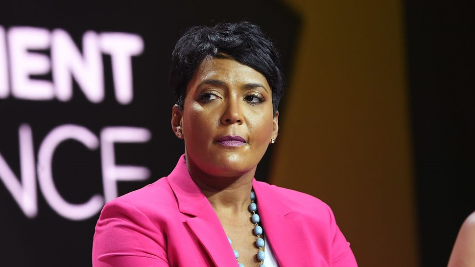 NEW ORLEANS, LA - JULY 07: Mayor of Atlanta Keisha Lance Bottoms speaks onstage during the 2018 Essence Festival presented by Coca-Cola at Ernest N. Morial Convention Center on July 7, 2018 in New Orleans, Louisiana. (Photo by