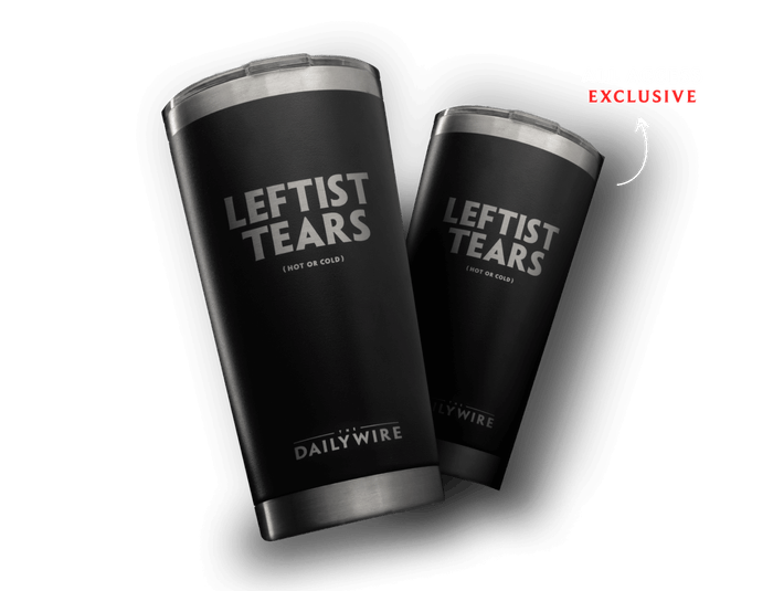 Get our iconic Leftist Tears tumbler.