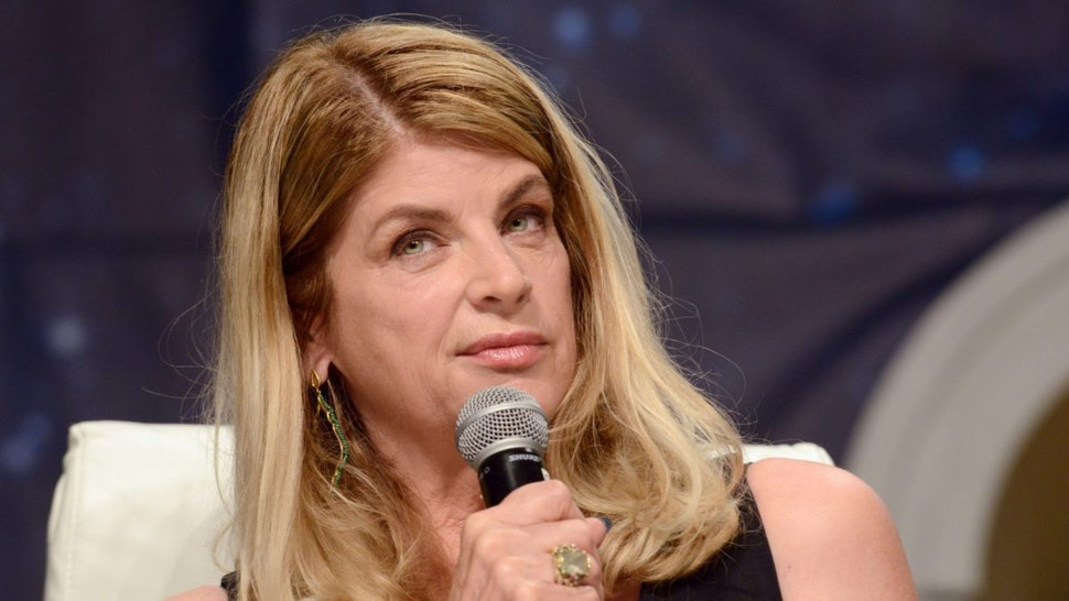 Actress Kirstie Alley on day 3 of Creation Entertainment's Official Star Trek 50th Anniversary Convention held at The Rio Hotel & Casino on August 5, 2016 in Las Vegas, Nevada.