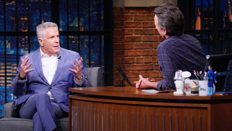 Donny Deutsch during an interview with host Seth Meyers on May 26, 2021