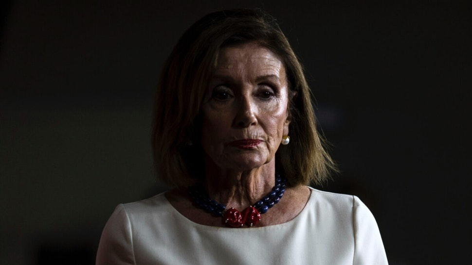 House Speaker Nancy Pelosi (D-CA) speaks during a weekly news conference on Capitol Hill on September 26, 2019 in Washington, DC.
