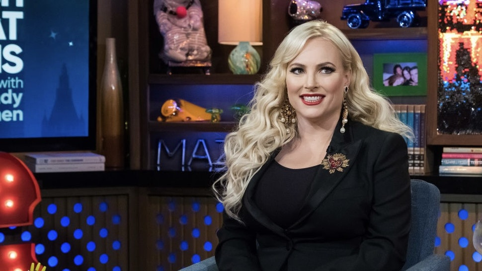 Watch What Happens Live With Andy Cohen - Season 15 WATCH WHAT HAPPENS LIVE WITH ANDY COHEN -- Pictured: Meghan McCain -- (Photo by: Charles Sykes/Bravo/NBCU Photo Bank/NBCUniversal via Getty Images) Bravo / Contributor via Getty Images