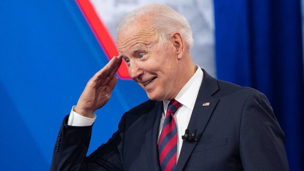 US President Joe Biden participates in a CNN Town Hall hosted by Don Lemon at Mount St. Joseph University in Cincinnati, Ohio, July 21, 2021.