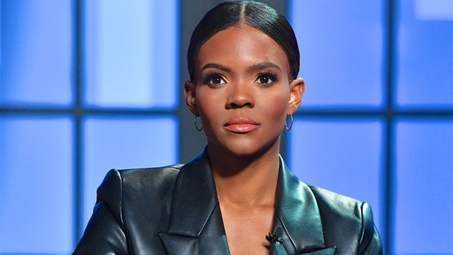 """Candace Owens is seen on set of """"Candace"""" on July 26, 2021 in Nashville, Tennessee. The show will air on Tuesday, July 27, 2021. (Photo by Jason Davis/Getty Images)"""