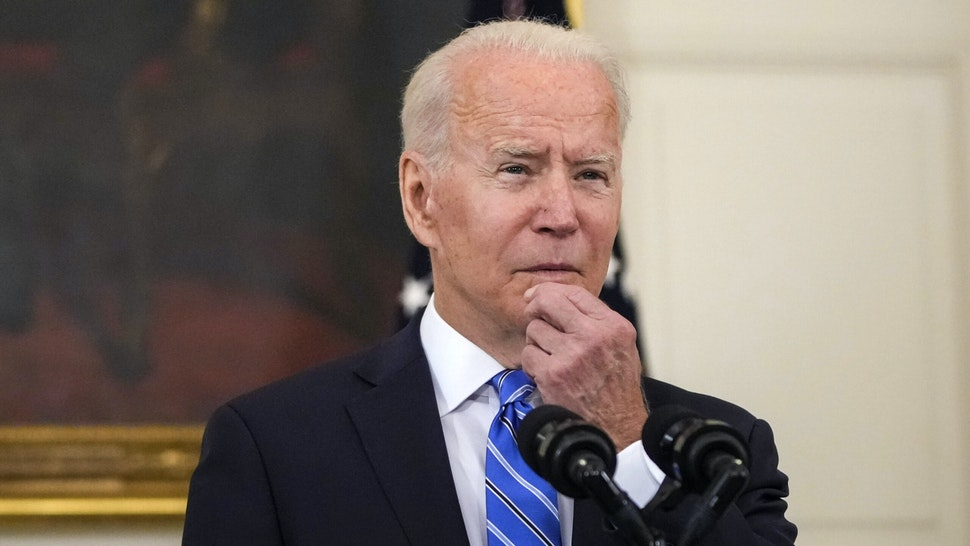 WASHINGTON, DC - JULY 19: U.S. President Joe Biden speaks about the nation's economic recovery amid the COVID-19 pandemic in the State Dining Room of the White House on July 19, 2021 in Washington, DC. Biden also reiterated his hope that Facebook will better police vaccine misinformation on their platform.