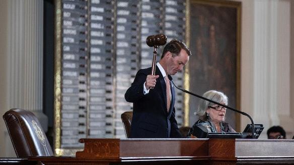 Texas House Speaker Strips Democrat Of Leadership Post