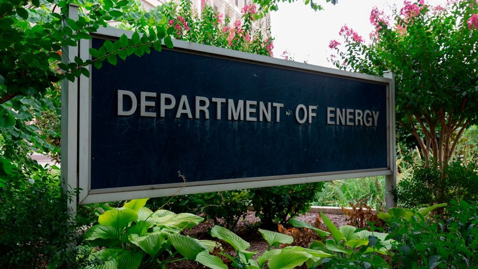 The US Department of Energy building is seen in Washington, DC, on July 22, 2019.