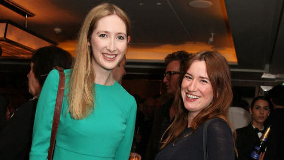 """LONDON, ENGLAND - JUNE 07: Flora Gill (L) and Georgia Fairman attend the launch of new book """"Uncle Dysfunctional"""" by AA Gill hosted by Esquire Editor-in-Chief Alex Bilmes and Nicola Formby at The Beaumont Hotel on June 7, 2017 in London, England."""