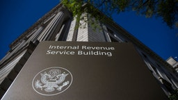 The Internal Revenue Service (IRS) building stands on April 15, 2019 in Washington, DC. April 15 is the deadline in the United States for residents to file their income tax returns