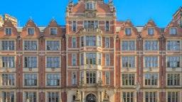 Frontage of London School of Economics' Department of Economics