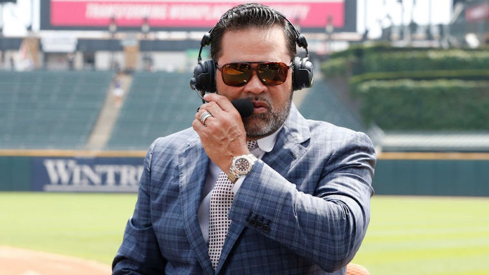 Former Chicago White Sox manager Ozzie Guillen prior to the start of the game between t he Chicago White Sox and the Chicago Cubs at Guaranteed Rate Field on July 07, 2019 in Chicago, Illinois.