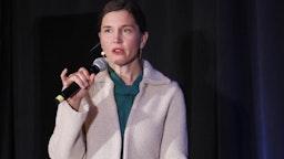 Erin Mendenhall, mayor of Salt Lake City, speaks during the Silicon Slopes Tech Summit in Salt Lake City, Utah, U.S., on Friday, Jan. 31, 2020.