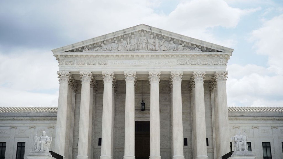The US Supreme Court is seen in Washington, DC on July 1, 2021.