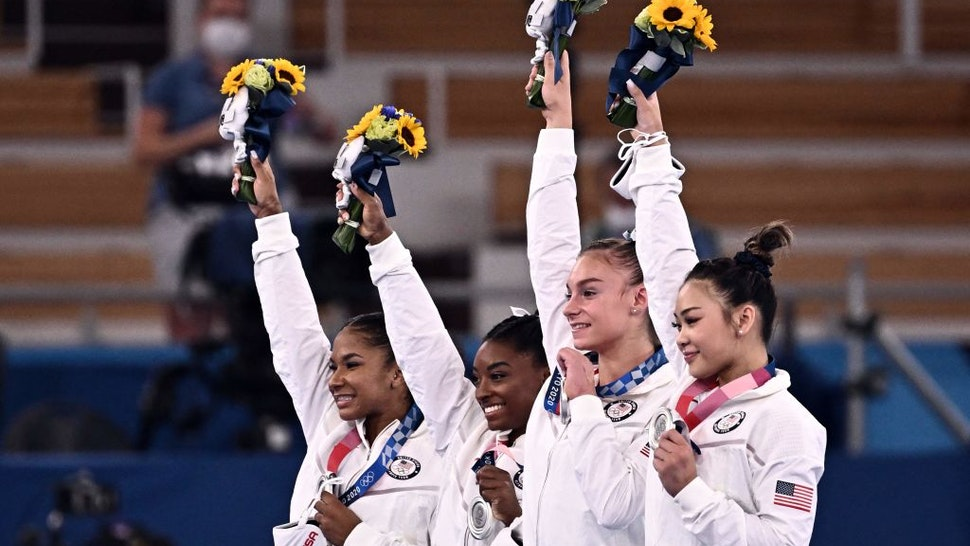 USA Women's Gymnastics team
