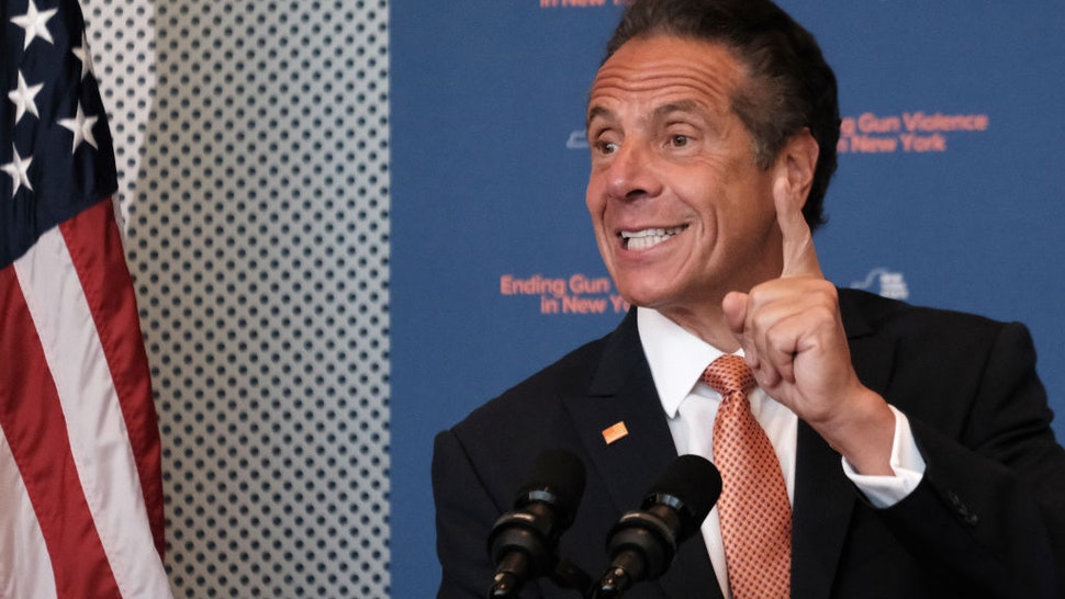 New York Governor Andrew Cuomo declares a state of emergency Tuesday due to the ongoing violence on July 06, 2021 in New York City.