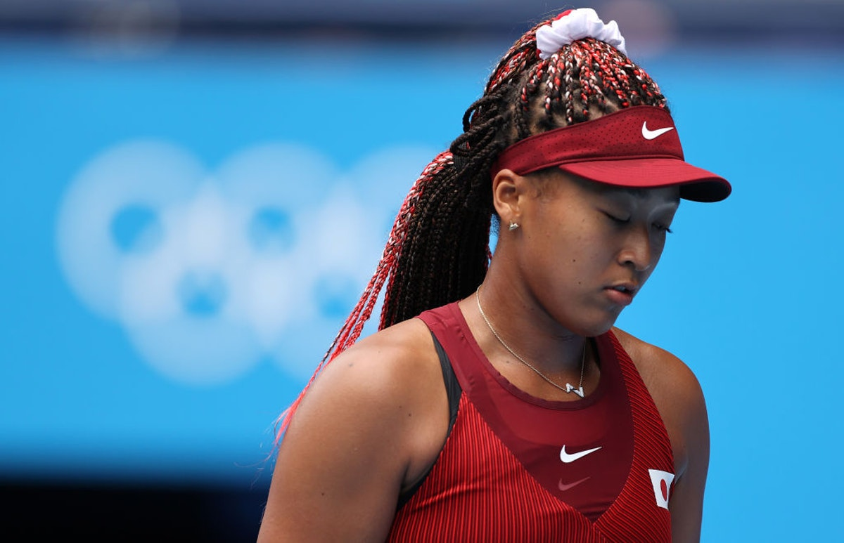 Naomi Osaka, Representing Japan, Knocked From Olympics In Stunning Upset