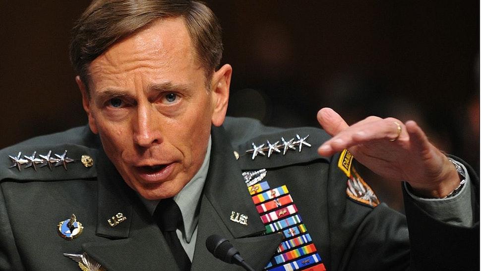 General David Petraeus testifies before