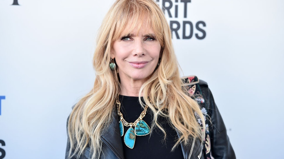 SANTA MONICA, CA - FEBRUARY 25: Actor Rosanna Arquette attends the 2017 Film Independent Spirit Awards at the Santa Monica Pier on February 25, 2017 in Santa Monica, California. (Photo by Alberto E. Rodriguez/Getty Images)
