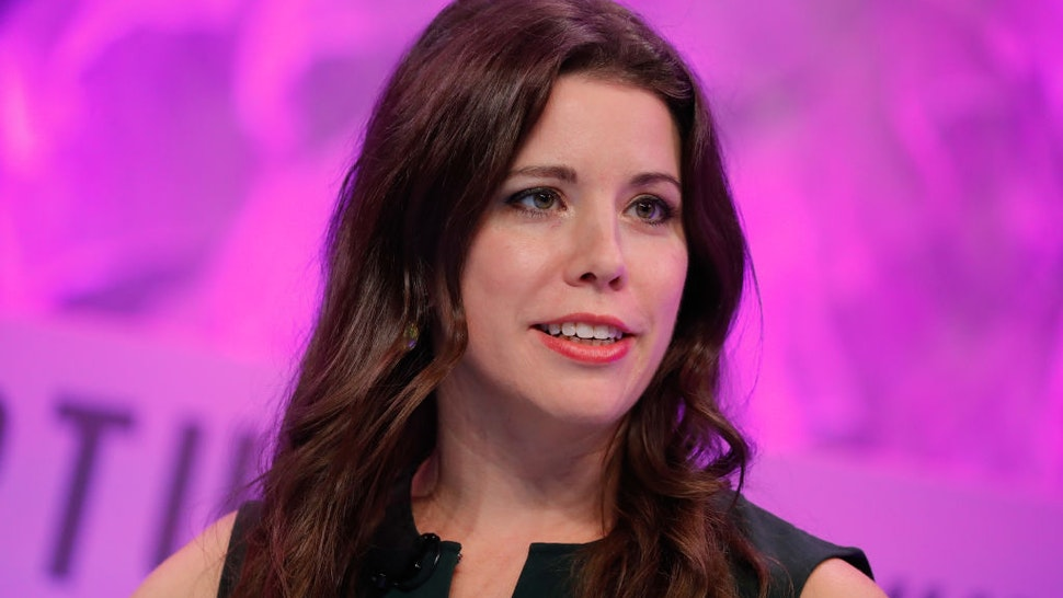 CNN Political Commentator Mary Katharine Ham speaks onstage at the Fortune Most Powerful Women Summit - Day 3 on October 11, 2017 in Washington, DC.