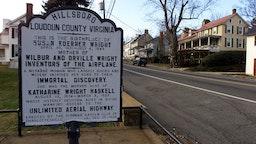 The tiny town of Hillsboro, Virginia.
